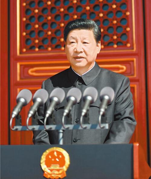 人民网评:习近平振臂高呼宣示人民力量