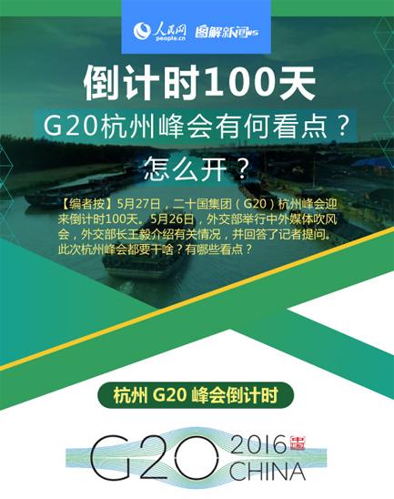 图解:倒计时100天 G20杭州峰会有何看点?怎么开?