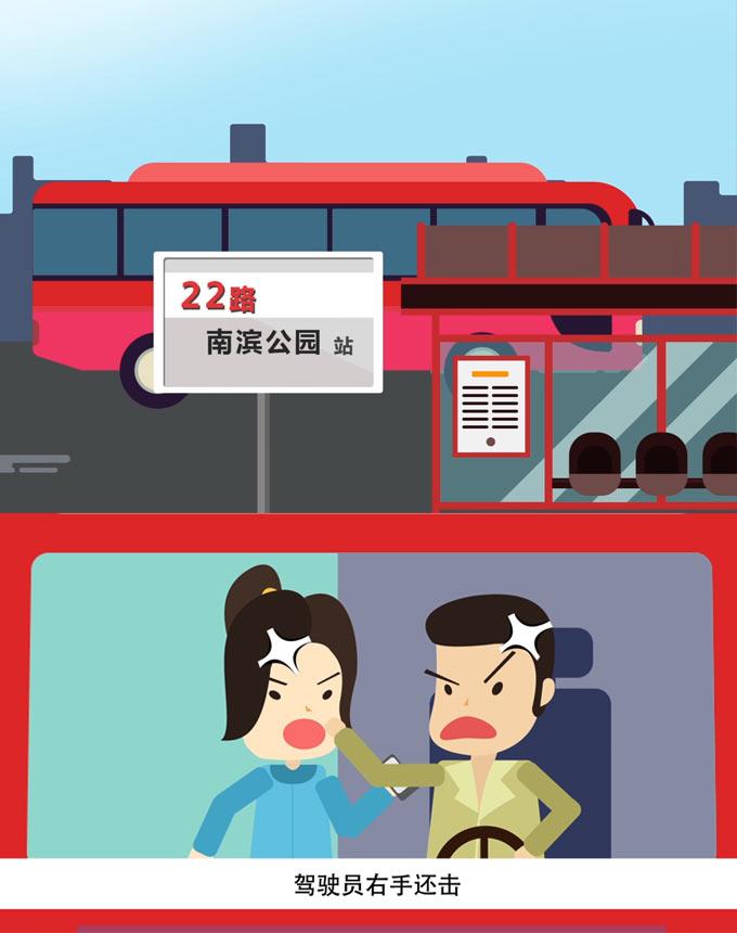 15条人命的教训!动画还原重庆公交车坠江全过程